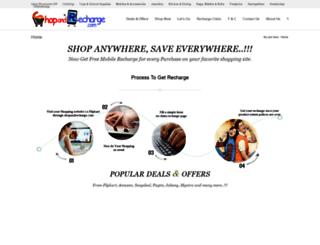 shopandrecharge.com screenshot