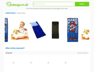 shopanga.co.uk screenshot