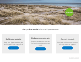 shopathome.dk screenshot