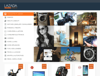 shopatlazada.com screenshot