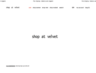 shopatvelvet.com screenshot