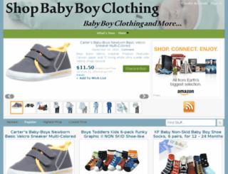 shopbabyboyclothing.com screenshot