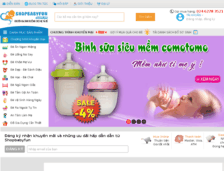 shopbabyfun.com.vn screenshot