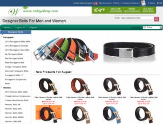 shopbeltsoutlet.com screenshot