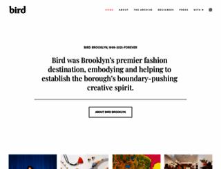 shopbird.com screenshot