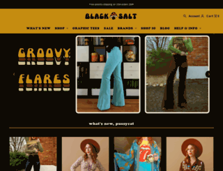shopblacksalt.com screenshot