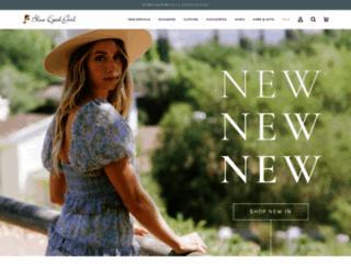 shopblueeyedgirl.com screenshot