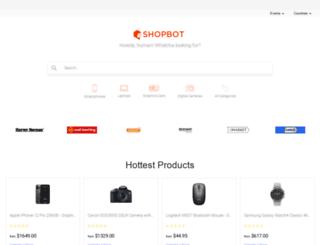 shopbot.co.nz screenshot