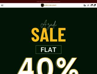 shopbrumano.com screenshot