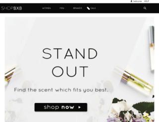 shopbxb.com screenshot