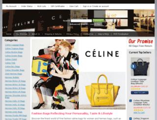 shopcelinebags.com screenshot