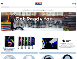 shopcgx.com screenshot