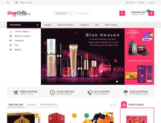 shopchillz.com screenshot