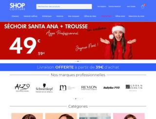 shopcoiffure.eu screenshot