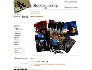 shopcurious.blogspot.com screenshot