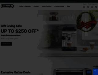 shopdelonghi.com screenshot
