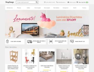 shopdesign.com.br screenshot