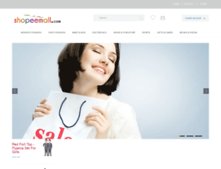 shopeemall.com screenshot