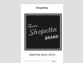 shopetta.com screenshot
