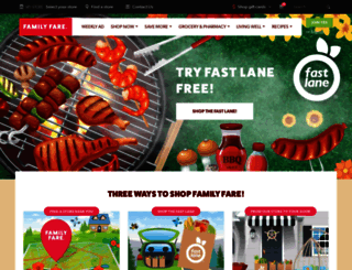 shopfamilyfare.com screenshot