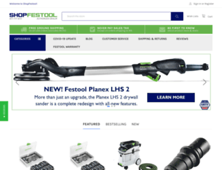 shopfestool.com screenshot
