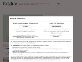 shopfinder.brigitte.de screenshot
