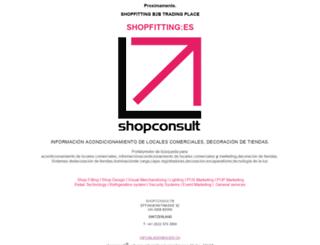shopfitting.es screenshot