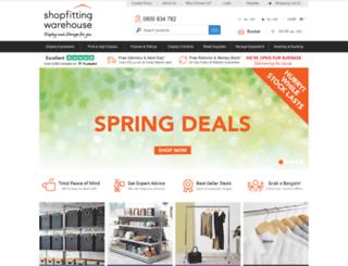 shopfittingswarehouse.co.uk screenshot