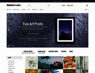 shopforart.com screenshot