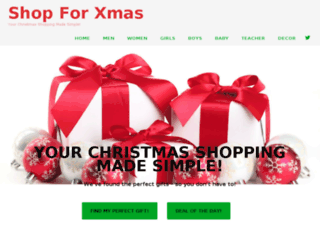 shopforxmas.com screenshot