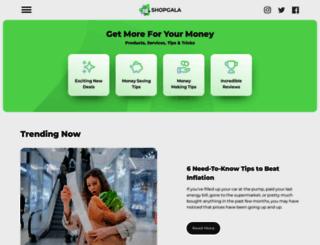 shopgala.com screenshot
