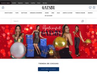 shopgatsby.com screenshot