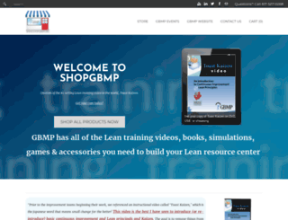 shopgbmp.org screenshot