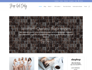 shopgirldaily.com screenshot