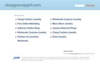 shopgossipgirl.com screenshot
