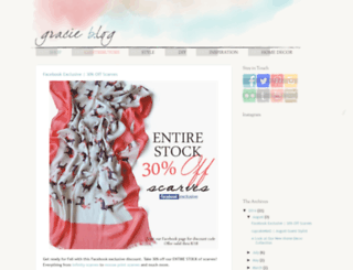 shopgracieb.blogspot.com screenshot