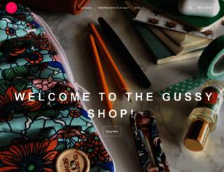 shopgussy.com screenshot