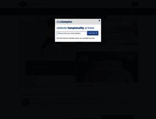 shophampton.com screenshot