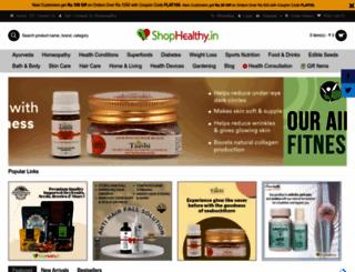 shophealthy.in screenshot