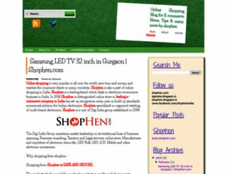 shophen.blogspot.com screenshot