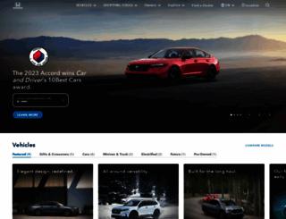 shophonda.com screenshot
