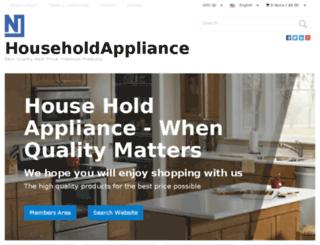 shophouseholdappliance.com screenshot