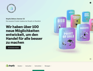 shopify.de screenshot