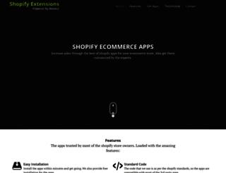 shopify.webkul.com screenshot