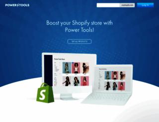 shopifypowertools.com screenshot