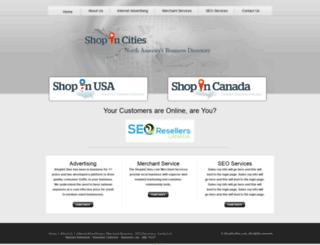 shopincities.com screenshot