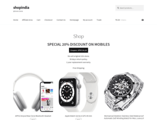 shopindia.xyz screenshot