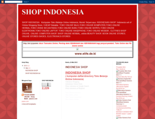 shopindonesia.blogspot.com screenshot