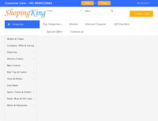shopingking.com screenshot