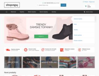 shopinguj.sk screenshot